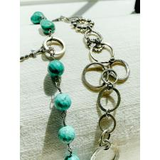 Turquoise Lucky 7  Double Bracelet